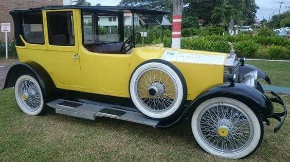1924 Rolls Royce - after restoration