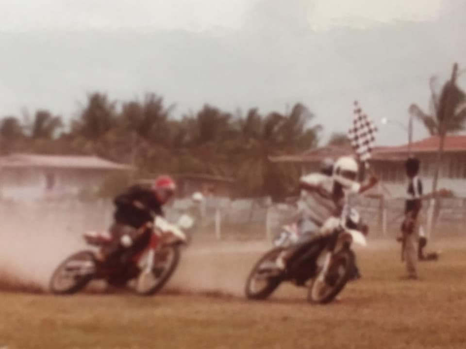 Albion Sports Complex (1988). Grasstrack series. Thank you, Mr. Mustapha Ally.