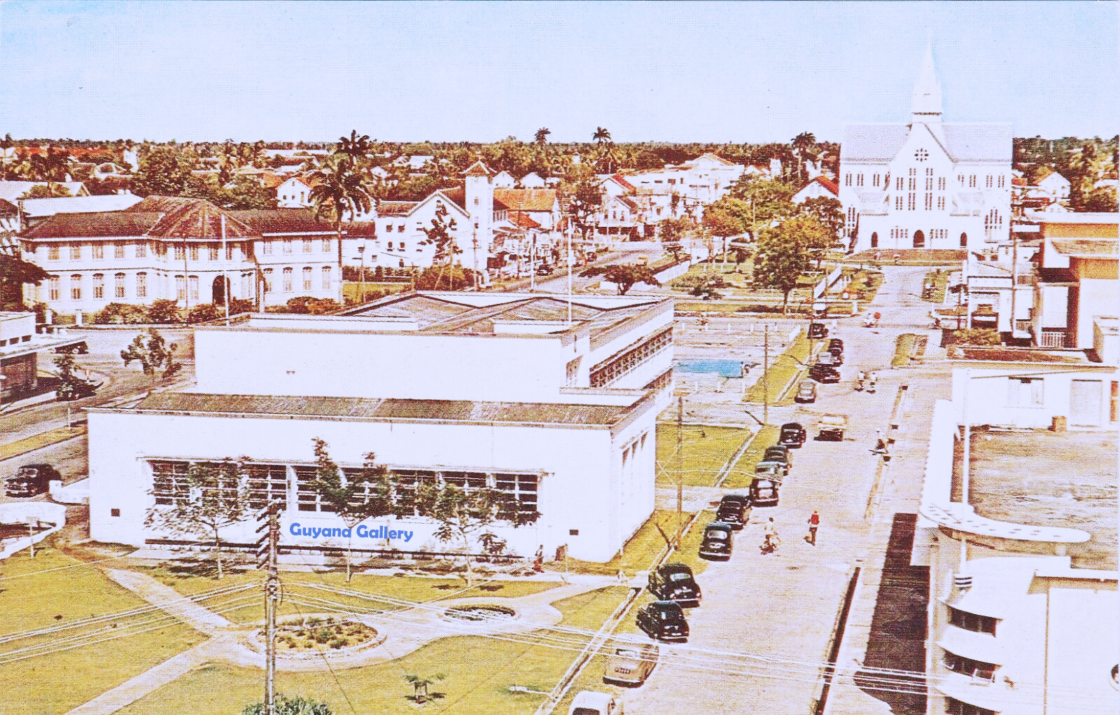Downtown Georgetown 1960