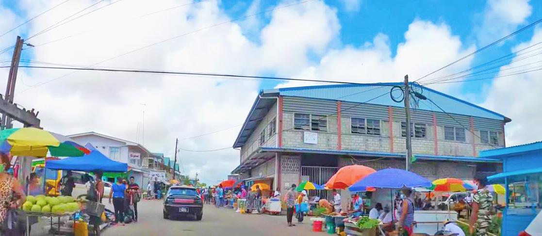 Mahaica (old road) Market