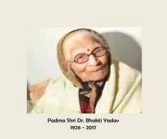 Padma Shri Dr. Bhakti Yadav
