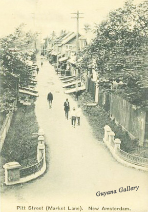 Pitt Street, New Amsterdam 1925 - Copy