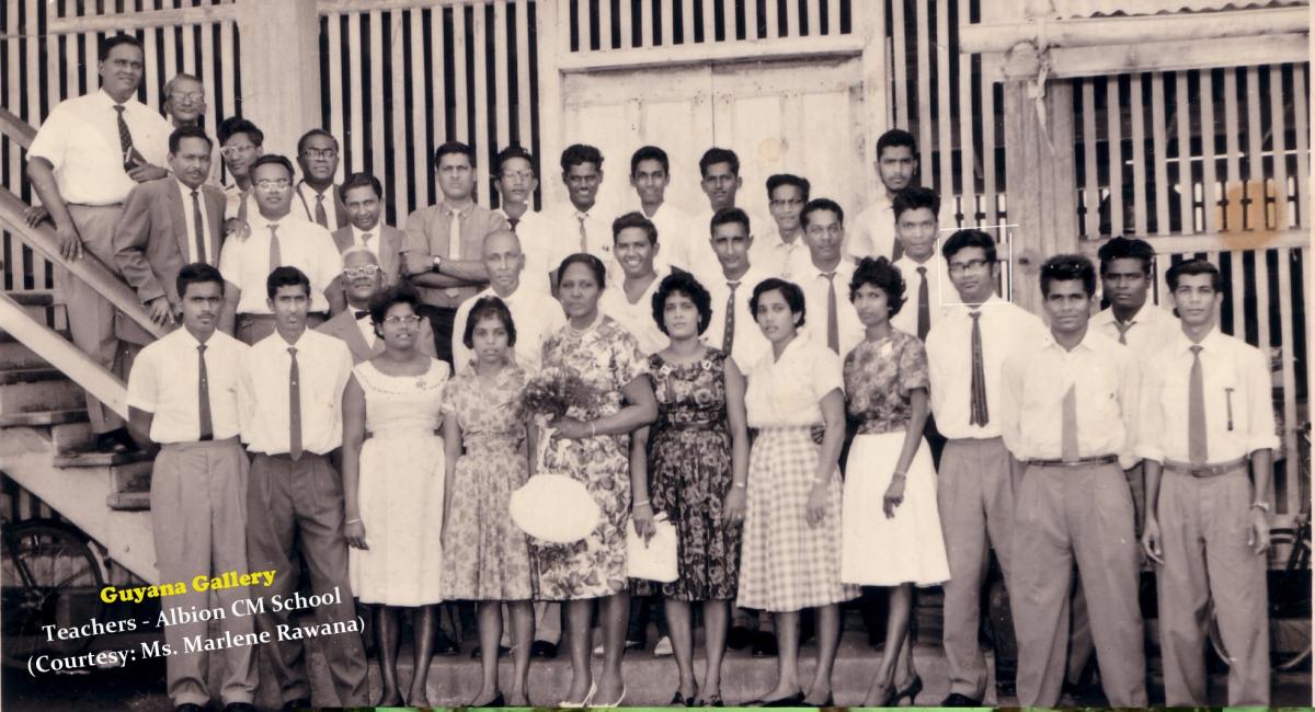 Teachers - Albion CM Schoo - 1963