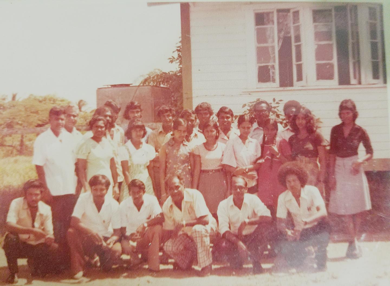 Yakusari School staff 1978